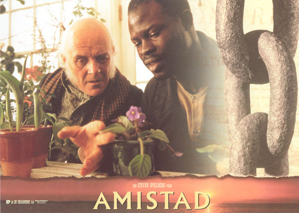 an analysis of slavery in the film amistad Free essay on analysis of the film the amistad together these men work to try to free the 53 slaves aboard the amistad after the slaves are film analysis.