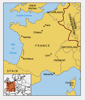 Borders Of France Map.Maps